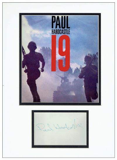Paul Hardcastle Autograph Signed Display - 19
